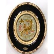 彫金皿 Chokin Plate [サラ200 9inch 金クサラシ 日本IV]