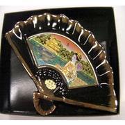 彫金扇 Chokin Folding fan [M-760 夏美人]