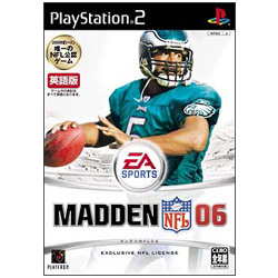 MADDEN NFL 06 [PS2ソフト]