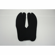 3001J-L ストレッチ足袋 黒/L [伸縮し履きやすい足袋]