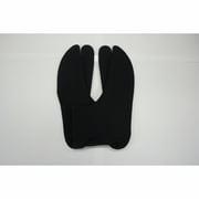 3001J-LL ストレッチ足袋 黒/LL [伸縮し履きやすい足袋]
