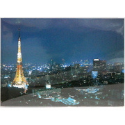 30-741 [JAPANポストカード 東京タワーの夜景]