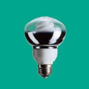 電球形蛍光灯 EFR15EN12 パルックボールスパイラル レフ形 R形・E26口金(パルック色) 60W電球タイプ