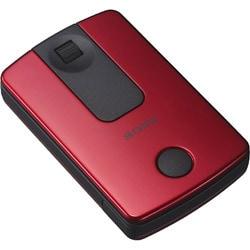 SMU-WM10 R [ワイヤレス 光学式 USB メタリックレッド]