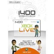 Xbox Live 1400 マイクロソフトポイントカード 56P-00009