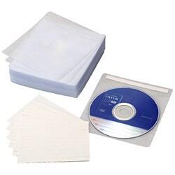 DVD-A004-055W [タイトル付不織布ケース ホワイト 55枚]