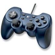 GPX-500BL [12ボタン USBゲームパッド  ブルーメタリック&ブラック PC GameController GPX-500]