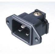 FI-33(R) [IECインレットプラグ ロジウムメッキ仕様 20A対応]