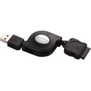 USB-IRL15BK [iPod用リール巻取り式USBケーブル 1.5m]