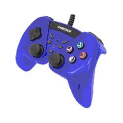 アナログ連射コントローラ BPT2 ブルー [PS2用]