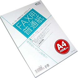 FXP-100 [FAX用普通紙(A4・100枚入)]