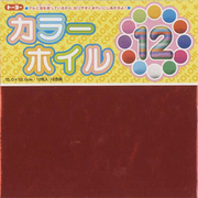 008001 カラーホイル折り紙