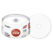 DR-120WWY30BN [録画用DVD-R 120分 1-16倍速 30枚 インクジェットプリンタ対応]