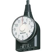 WH3111BP [タイマー(11時間型) ダイヤルタイマー ブラック]