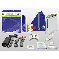 Xbox 360 Blue Limited Edition: 2006 FIFA WORLD CUP 公式家庭用ゲーム機