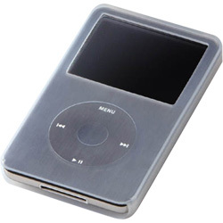 AVD-SCA5G3CR [第5世代iPod 30GB用シリコンケース&液晶保護フィルム]