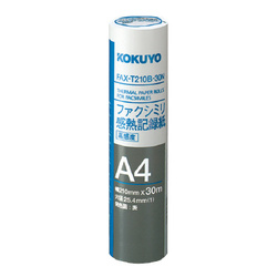 FAXT210B30N [ファックス感熱ロール A4 30M 内径25mm]