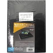BCS912 [ブラック メタルエッジ ボックス A4]