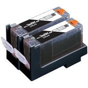 ECI-CA03B2P [キヤノン BCI-3eBK 互換リサイクルインクカートリッジ ブラック2本パック]