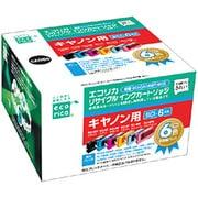 ECI-CA066P/BOX [キヤノン BCI-6/6MP 互換リサイクルインクカートリッジ 6色パック]