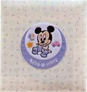 ア-LB-617-1 [フエルアルバムDigio 誕生用 ベビーミッキー&フレンズ プラコート台紙 Lサイズ ミッキー]