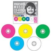 CDRA80MIX.S1P20S [音楽用CD-R 80分 20枚]
