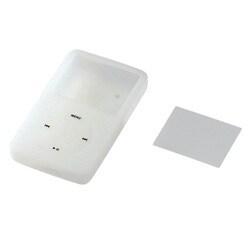 AVD-SCRA5G6CR [第5世代iPod(60GB)用シリコンケース&液晶保護フィルム]