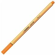 88-54 [水性サインペン ポイント88 細字 0.4mm オレンジ]
