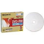 5DMW12HPS [録画用DVD-RW 120分 1-2倍速 CPRM対応 5枚 インクジェットプリンタ対応]