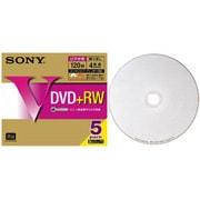 5DPW12HPS [録画用DVD+RW 120分 1-4倍速 5枚 インクジェットプリンタ対応]