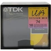 MD-WA74MX10N [74分 ミニディスク 10枚組]