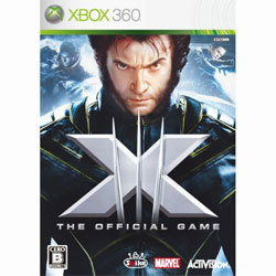 X-MEN THE OFFICIAL GAME [XB360ソフト]