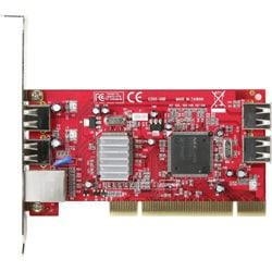 GBE+USB4-LPCI [USB2.0接続 1000BASE-T/100BASE-TX/10BASE-T 複合インターフェイスボード]