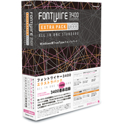 FONTWIRE 3400 EXTRAPACK for Windows [Windows]