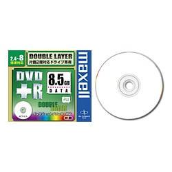 D+R85PWC.N1P5S [データ用DVD+R DL 8.5GB 2.4-8倍速 インクジェットプリンタ対応 ホワイトレーベル 5枚]