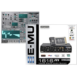 CP-E16MC-EX2 [Creative Professional E-MU 1616M CardBus / Emulator X2 Bundle]