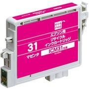 ECI-E31M [エプソン ICM31 互換リサイクルインクカートリッジ マゼンタ]