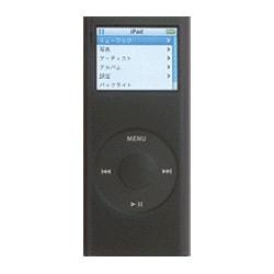 MIPSK-NANO2BK (ブラック) [2nd iPod nano専用 シリコンケース] nano Skin II