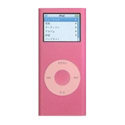 MIPSK-NANO2PK (ピンク) [2nd iPod nano専用 シリコンケース] nano Skin II