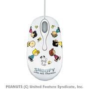 EAM-UMSN2W [USB 光学式マウス スヌーピー ホワイト]
