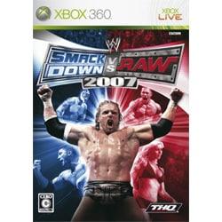 WWE 2007 SmackDown vs Raw [XB360ソフト]