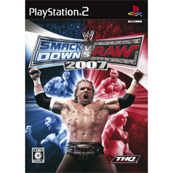 WWE 2007 SmackDown vs Raw [PS2ソフト]
