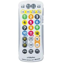 RM-A105-W (ホワイト) [地上デジタル放送対応 リモートコントローラー]