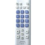 RM-A205-W (ホワイト) [地上デジタル放送対応 リモートコントローラー]