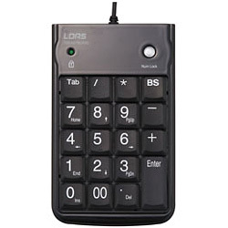 TNK-SU221BK [USBテンキーボード ブラック]