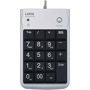 TNK-SU221SL [USBテンキーボード シルバー]