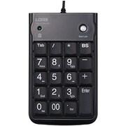 TNK-SUH221BK [USBハブ内蔵テンキーボード ブラック]