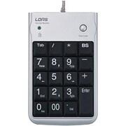 TNK-SUH221SL [USBハブ内蔵テンキーボード シルバー]