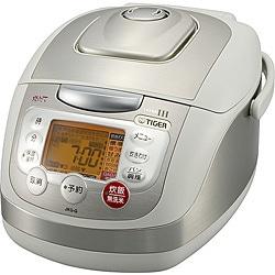 IH炊飯器 (5.5合炊き) JKG-G100-H(グレー) 炊きたて