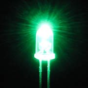 LK-5PG 5mmLED 緑 [電気工作]
